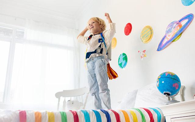 Otroška soba kot vesolje